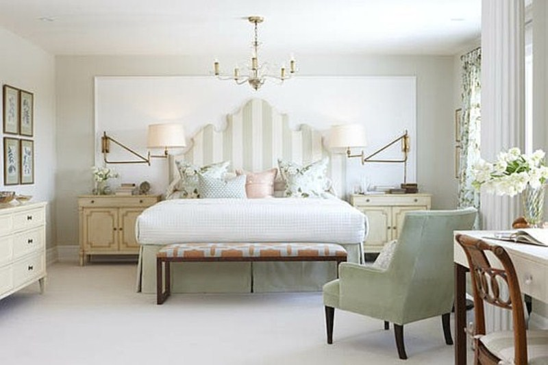 Amazing white look bedroom designs