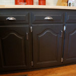 Black Kitchen Cabinet Doors