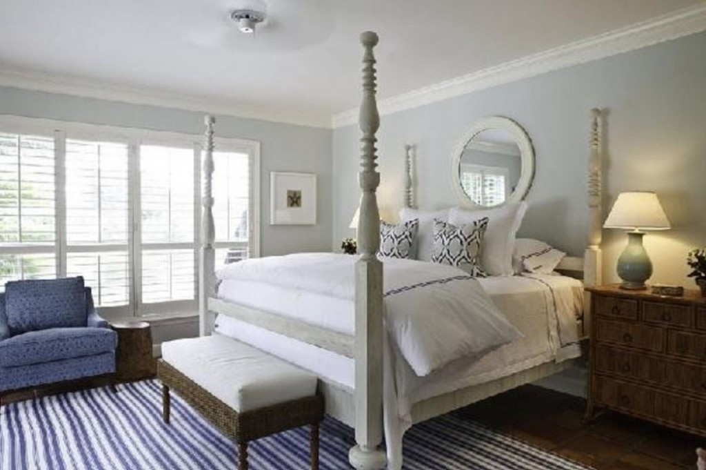 Blue and Gray Bedroom Decorating Ideas