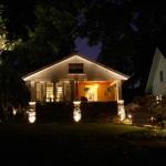Brass Landscape Lighting