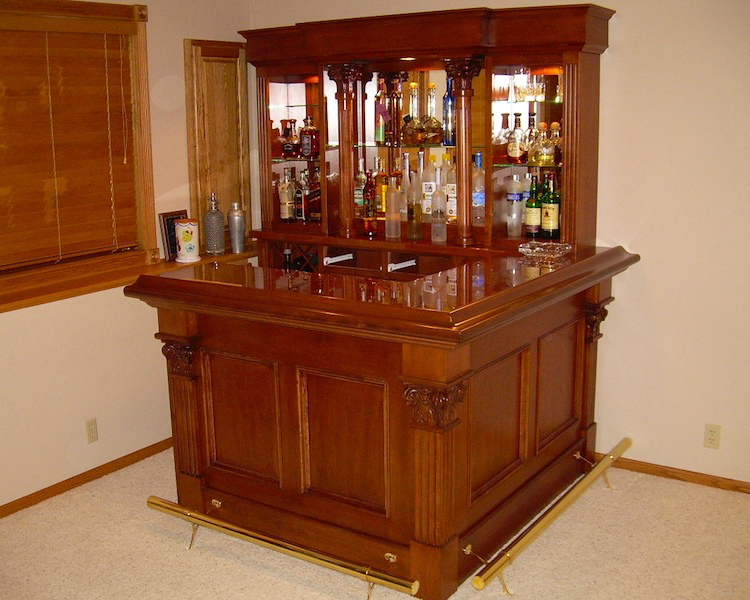Custom Home Bar Furniture