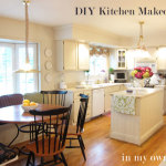 DIY White Kitchen Cabinets