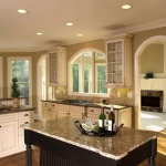 Glazing White Kitchen Cabinets