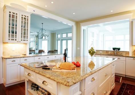 Granite for White Kitchen Cabinets