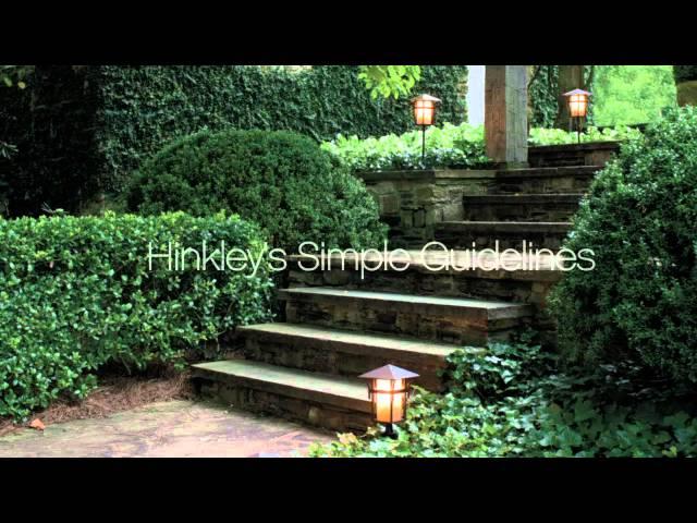 Hinkley Landscape Lighting