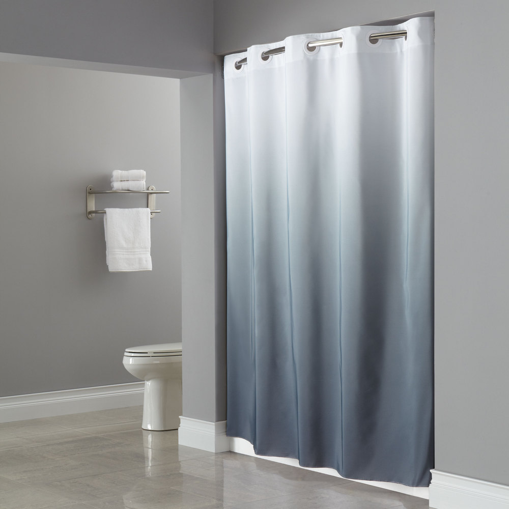 Hookless Hotel Shower Curtain