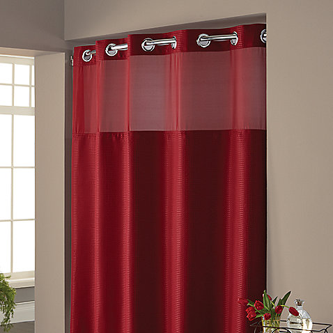 Hookless Vinyl Shower Curtain