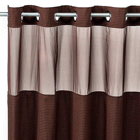 Hookless Waffle Shower Curtain