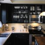 Ikea Black Kitchen Cabinets