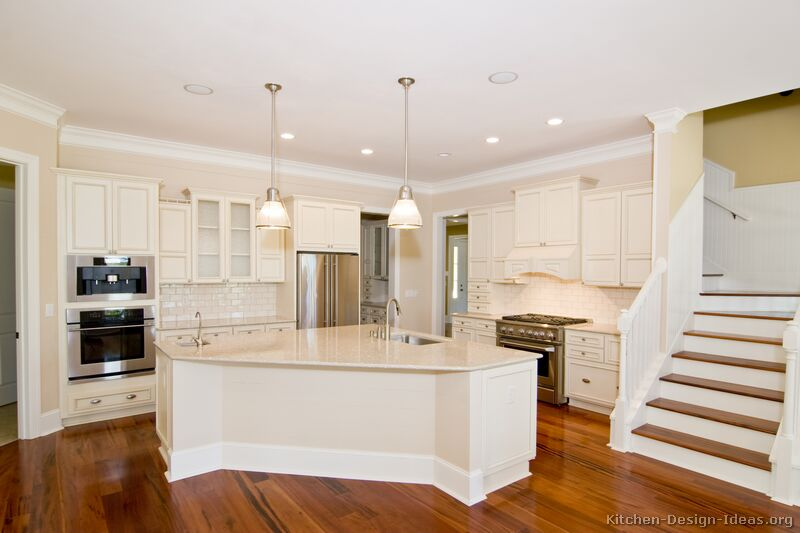 Images of Kitchens with White Cabinets