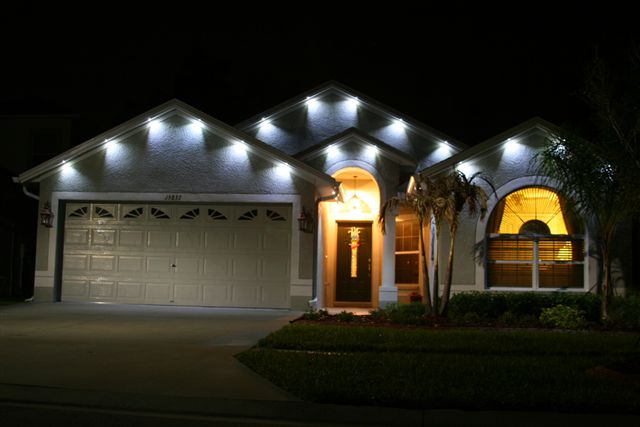Outdoor Soffit Lighting