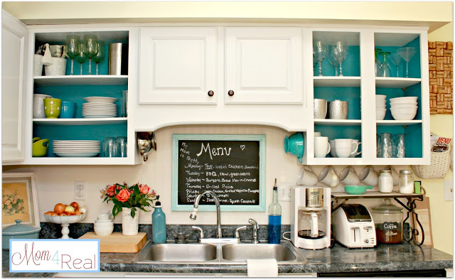 Painting Inside Kitchen Cabinets
