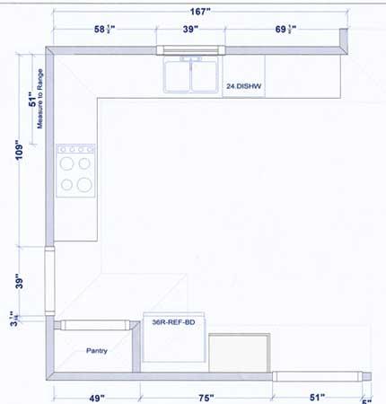 Sample Kitchen Floor Plans
