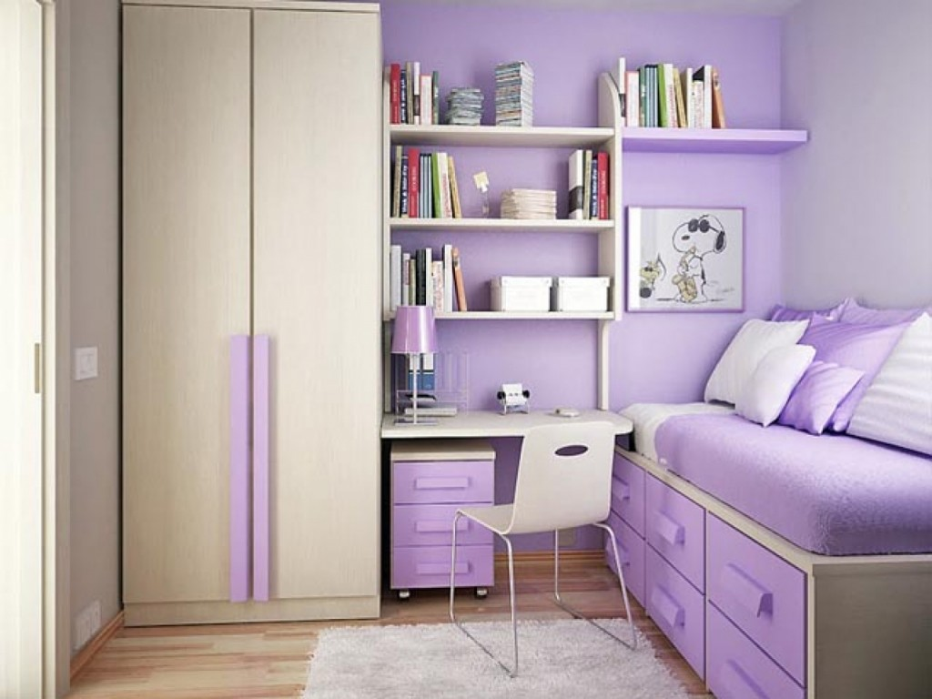 Small Bedroom Decorating Ideas for Teenage Girls