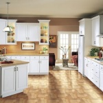 White Thermofoil Kitchen Cabinets