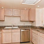 White Wash Kitchen Cabinets