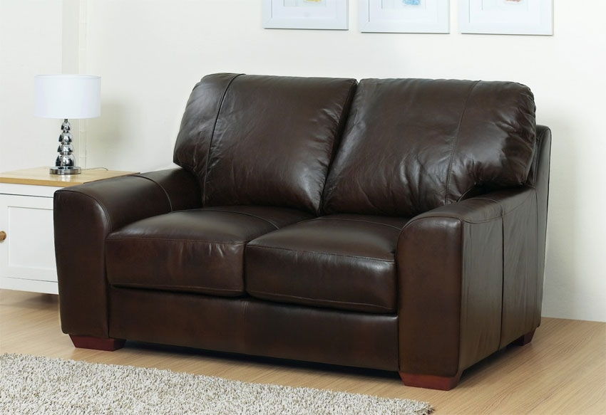 Seater Brown Leather Sofa Decor Ideas