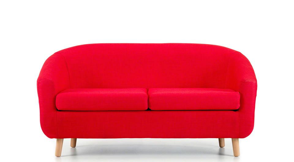 2 Seater Tub Sofa