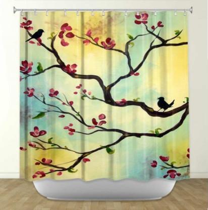 Asian Shower Curtain Sets