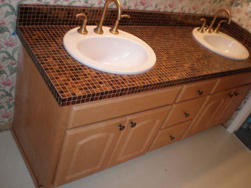 Bathroom Countertop Tile Ideas