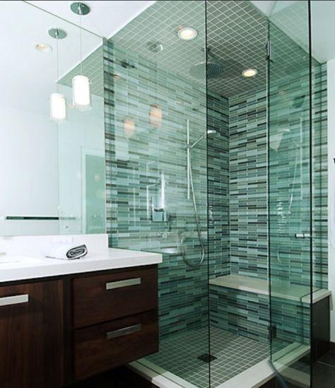 Bathroom Glass Tile Ideas