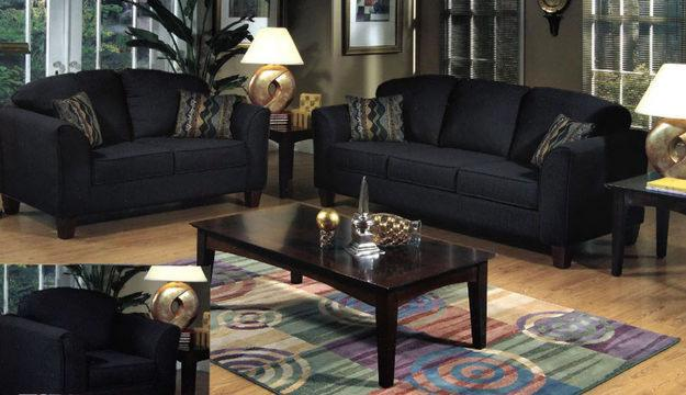 Black Living Room Table Sets