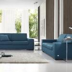 Blue Contemporary Sofas London