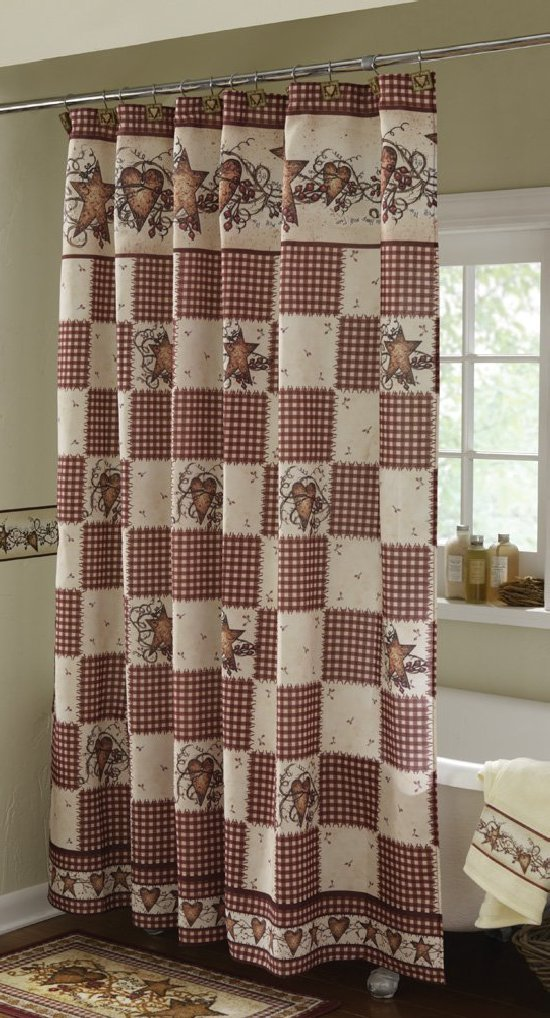 Country Shower Curtain Sets