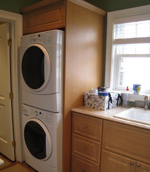 Custom Laundry Room Cabinets