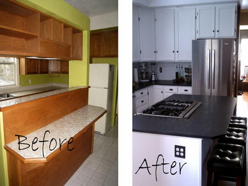Diy Kitchen Remodel Ideas On A Budget Before And After Decor