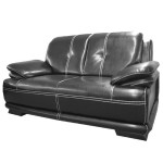 Faux Leather 2 Seater Sofa