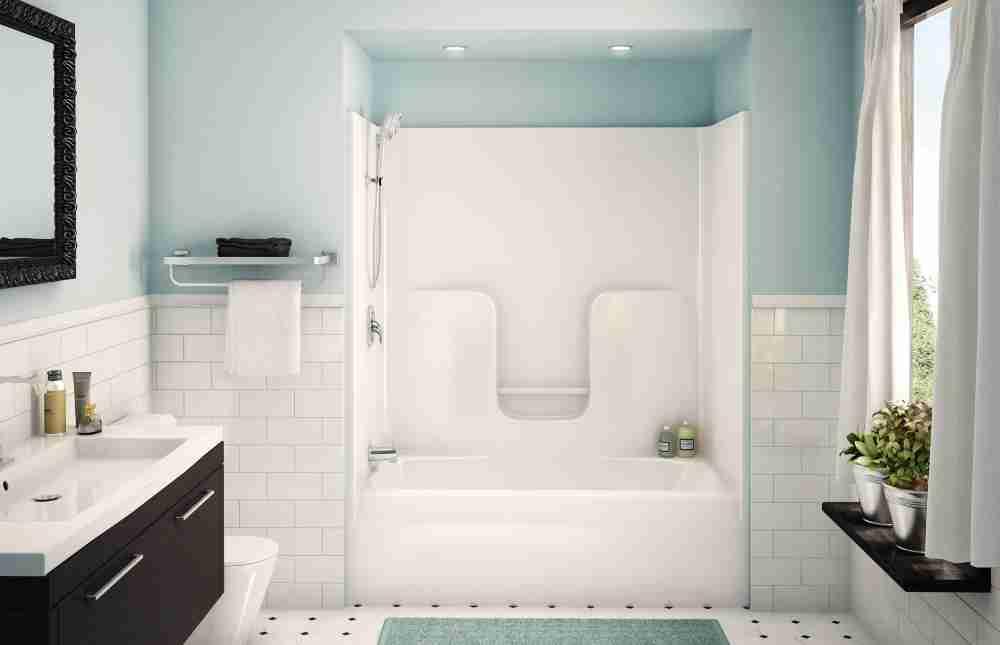 Fiberglass Bathtub Shower Combo