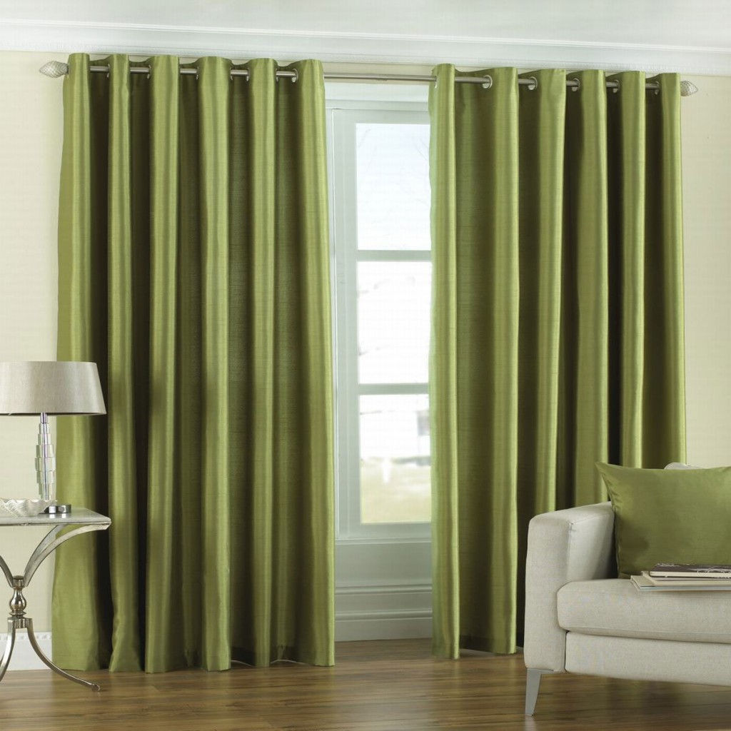 Green Bedroom Curtains