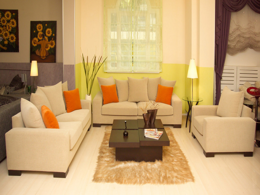 Home Decorating Ideas for Living Room Colors