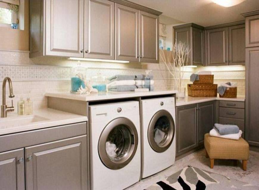 Laundry Room Cabinet Ideas