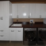 Laundry Room Sink Cabinet