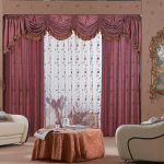 Living Room Curtain Designs