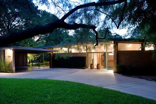 Mid Century Modern Homes Dallas