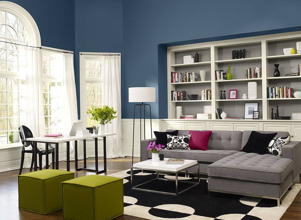 Modern Living Room Colors Schemes