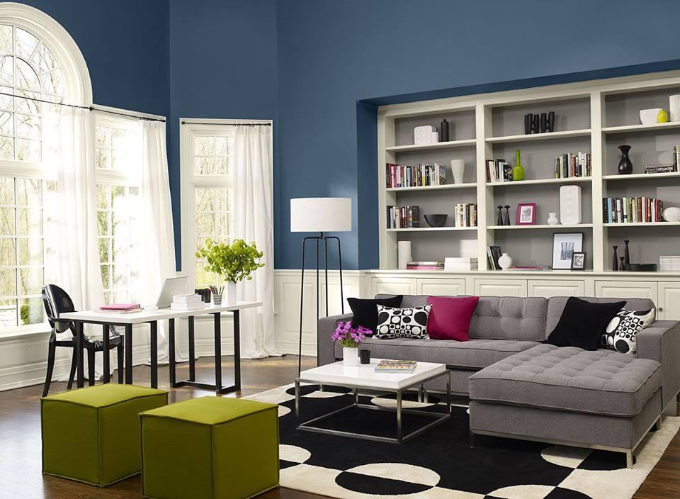 Modern Living Room Colors Schemes