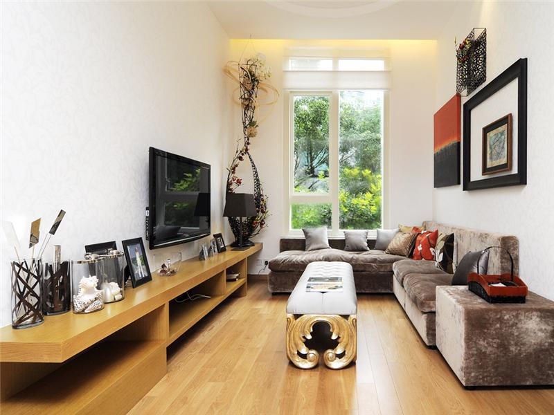 Narrow Living Room Design Ideas