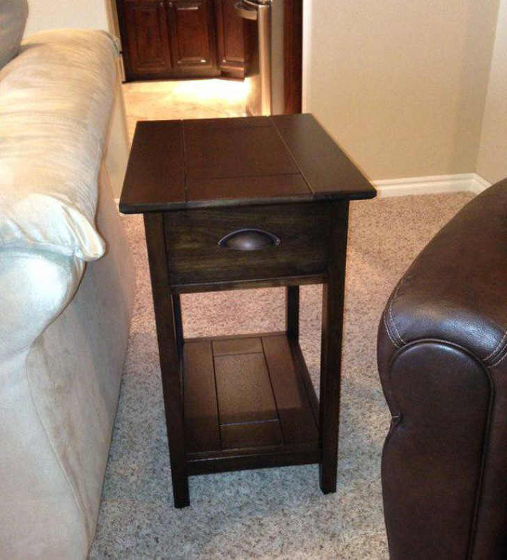 Narrow Side Tables for Living Room