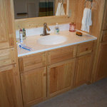 OAK Bathroom Vanity Cabinets