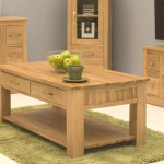 OAK Living Room Tables