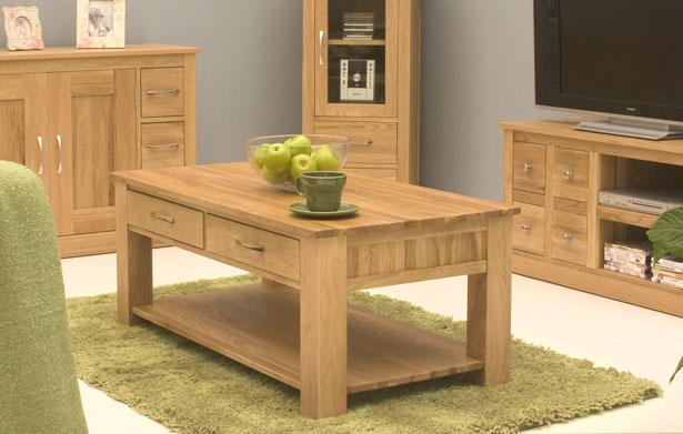 OAK Living Room Tables