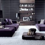 Purple Living Room Designs