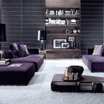 Purple Living Room Designs