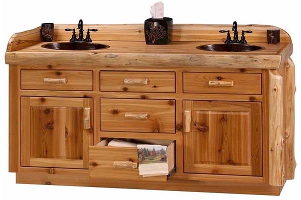 Rustic Bathroom Vanity Cabinets