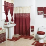Shower Curtain Sets with Rugs