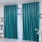 Teal Bedroom Curtains